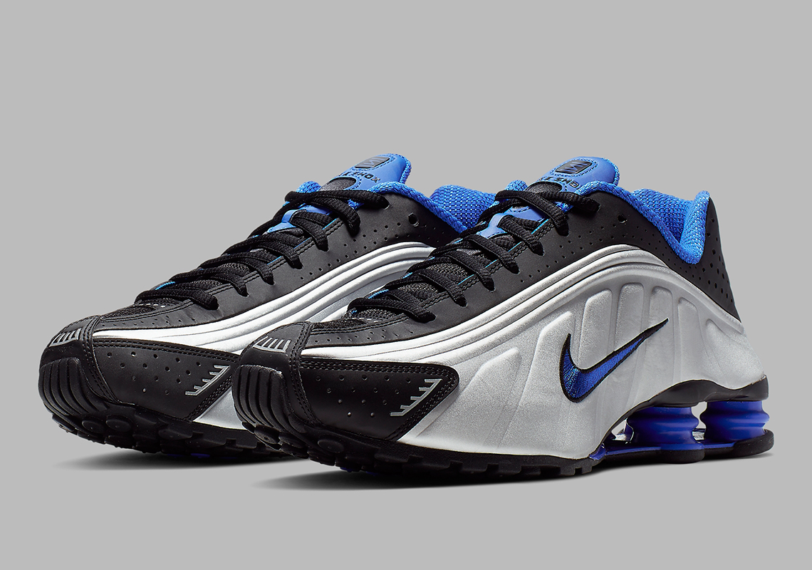 new concept 97d34 363e7 The Nike Shox R4 Is Back In Racer Blue Tones