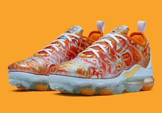 Nike Is Dropping A Vapormax Plus With Dip-Dyed Patterns