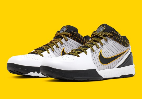 "Official Images of The Nike Zoom Kobe 4 Protro ""Del Sol"""