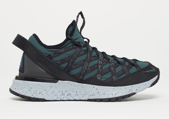 "Nike ACG React Terra Gobe ""Deep Jungle"" Releases On May 9th"