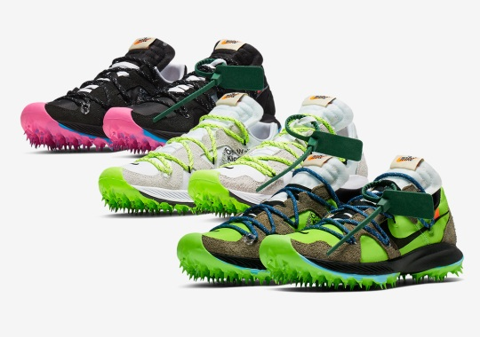 "Off-White x Nike Zoom Terra Kiger 5 ""Athlete In Progress"" Collection Releases On June 27th"