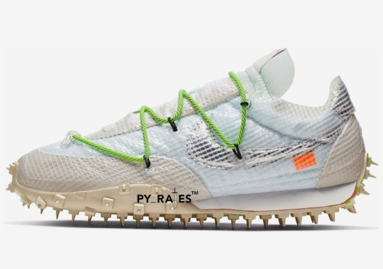Off-White and Nike Expand Their Women's Collection With An Aggressive Waffle Racer
