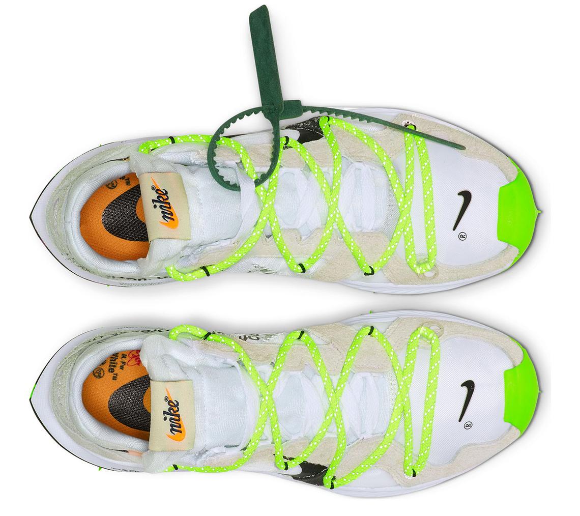 Nike Zoom Terra Kiger 5 OFF WHITE Electric Green (W)
