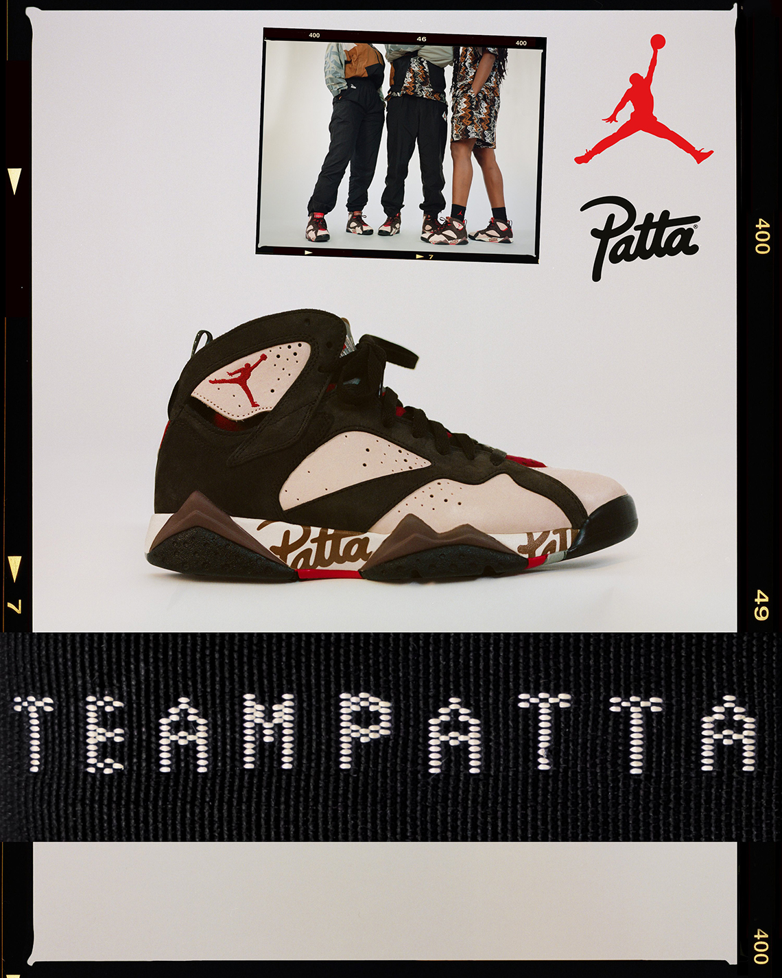 newest collection e0c3b bc70f Patta Air Jordan 7 Collection Release Date + Info   SneakerNews.com