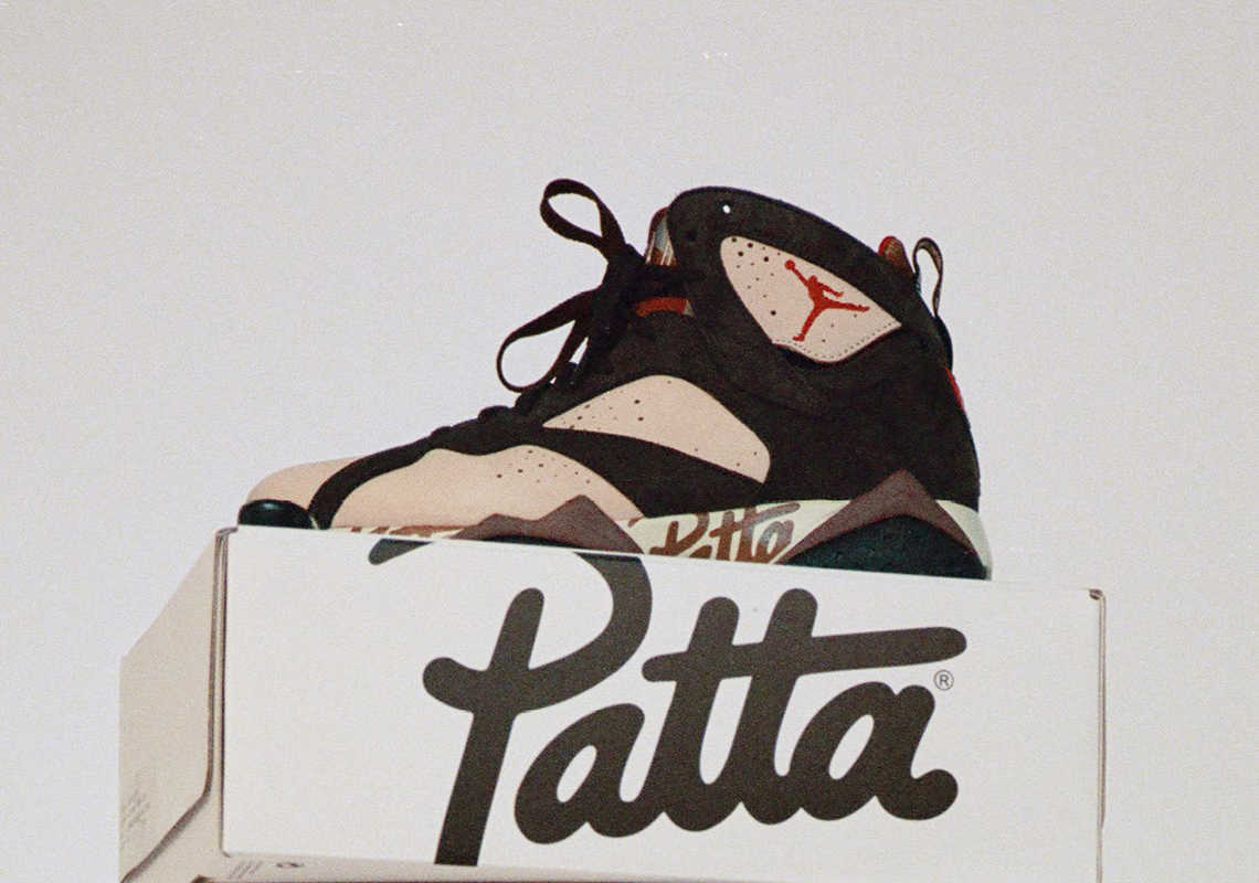 Patta Air Jordan 7 Collection Release Date + Info