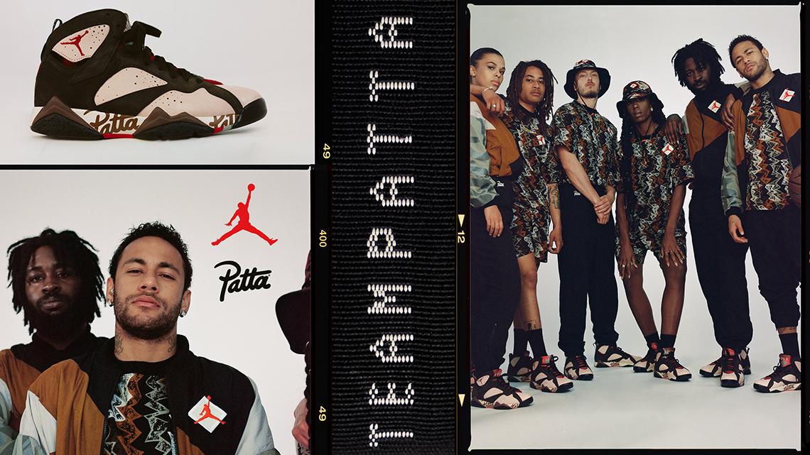 Patta Air Jordan 7 Collection Release Date + Info