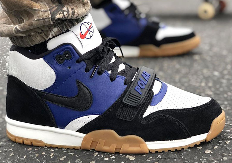 meet official photos great fit Nike SB Air Trainer 1 Polar Skate Co Release Date ...