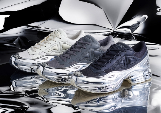 Raf Simons Adds Mirrored Finishes On Upcoming adidas Ozweego Capsule