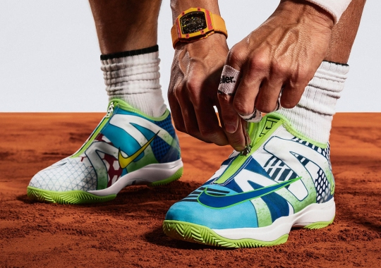 "Rafael Nadal's ""What The"" Nike Shoe Honors His Winning Footwear In Paris"