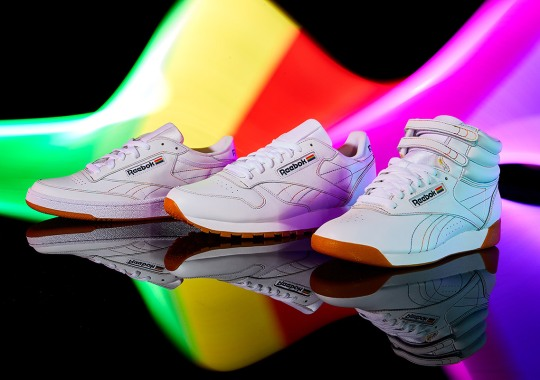 Reebok Celebrates Pride Month With Subtle Rainbow Accents