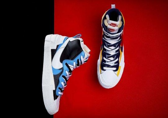 Where To Buy The sacai x Nike Blazer