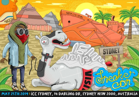 Sneaker Con Arrives In Sydney, Australia On May 25th