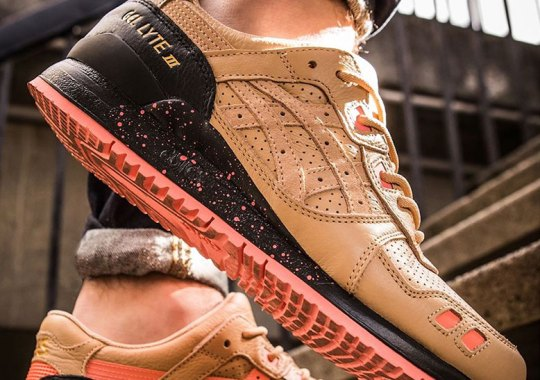 "Sneaker Freaker x ASICS GEL-Lyte III ""Tiger Snake"" Is Coming Soon"