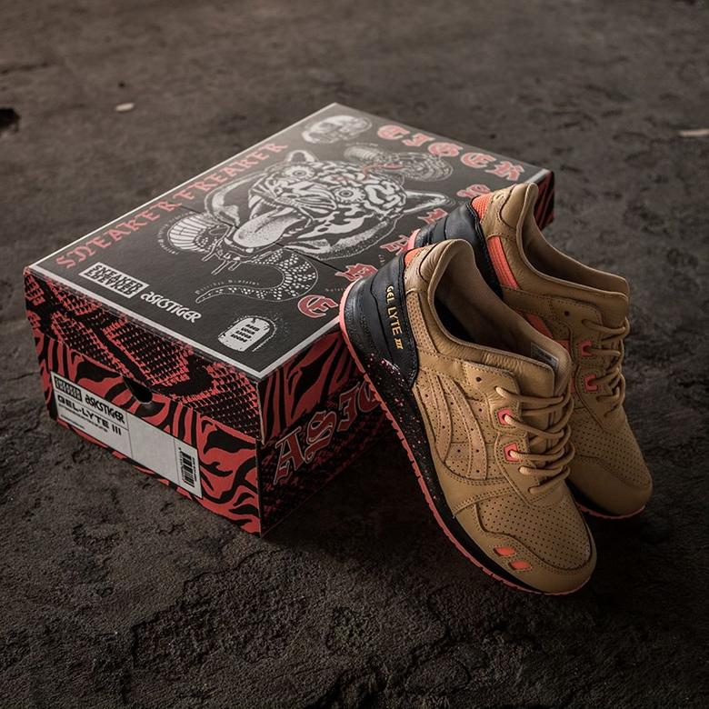 "new style 39619 8e7e4 Sneaker Freaker x ASICS GEL-Lyte III ""Tiger Snake"" Style Code   1191A009-201. Advertisement. Advertisement. Images  sneakerfreakermag"