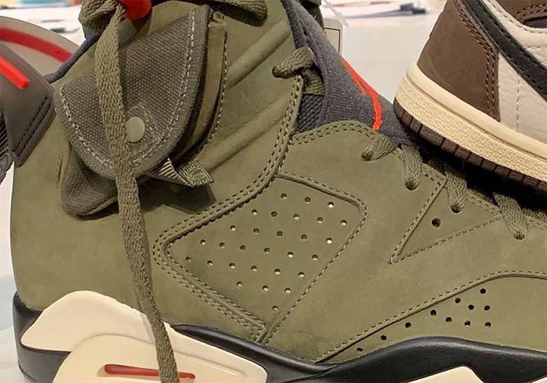 "4c9b4d77a028 Could kids-sized pairs be in the works  While teasing a closer look at his Air  Jordan 6 ""Cactus Jack"" on Instagram"