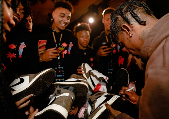 Tracking The Travis Scott Air Jordan 1 From First Look To Release