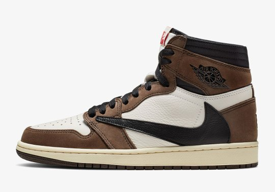 The Travis Scott x Air Jordan 1 Releases Tomorrow
