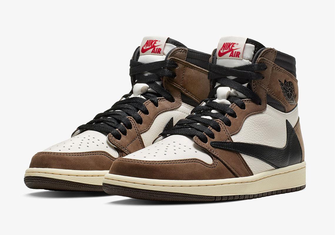 Travis Scott Air Jordan 1 Full Release Info | SneakerNews.com