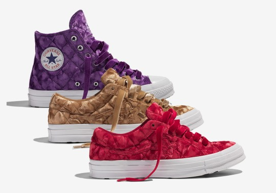 Tyler, The Creator And Converse To Launch A Quilted Crushed Velvet Collection