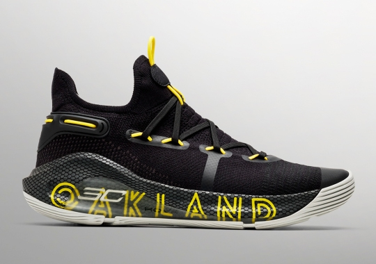 Steph Curry Thanks Oakland With His Next UA Curry 6 Release