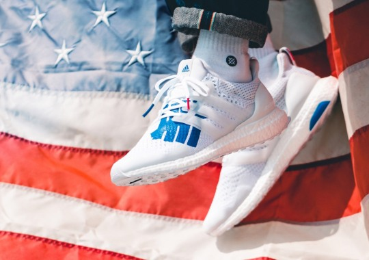 "Where To Buy The UNDEFEATED x adidas Ultra Boost ""Stars And Stripes"""