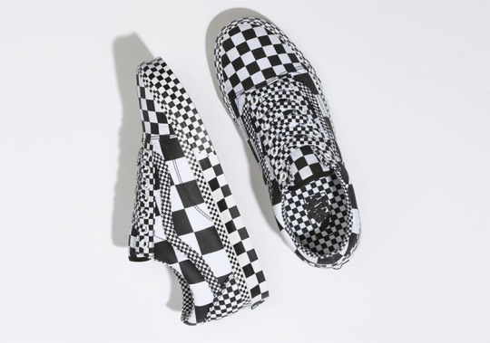 """The Vans Old Skool """"All Over Checkboard"""" Is Available Now"""