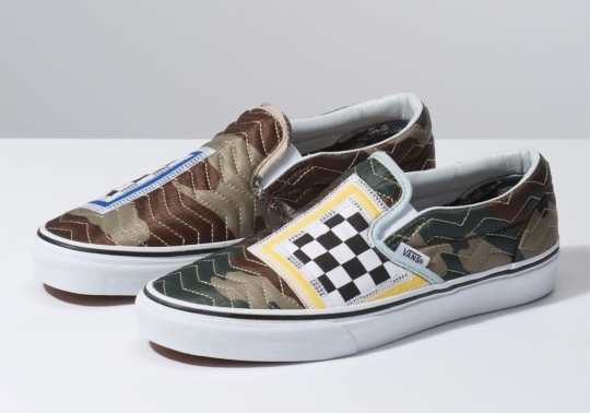 Vans Experiments With More Patchwork Styles With This Camo Slip-On