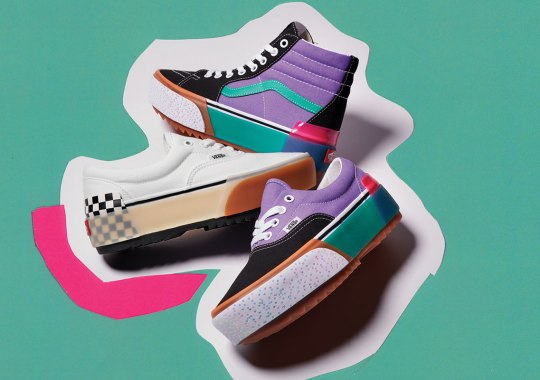 Vans Frankensteins The Classic Era And Sk8-Hi With Oversized Features And Chaotic Layers