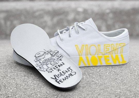 Violent Femmes And Nike Reveal A Stefan Janoski Collaboration