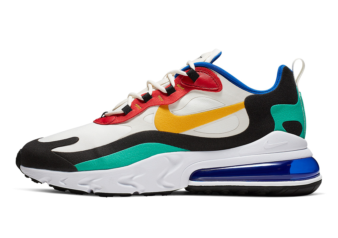 on feet images of good looking exclusive range Nike Air Max 270 React Bauhaus AO4971-002 Release Date ...
