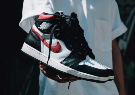 "The Air Jordan 1 Retro High OG ""Gym Red"" Releases Tomorrow"