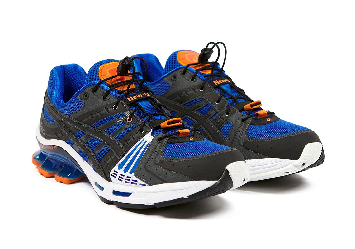 AFFIX WORKS ASICS GEL Kinsei Yellow Blue Release Date