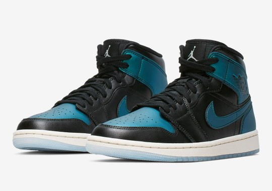 "3118231752a Air Jordan 1 Mid ""Iridescent"" For Women Is Coming Soon"