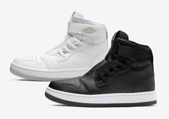 The Air Jordan 1 Nova XX Appears In Solid Black And White Colorways