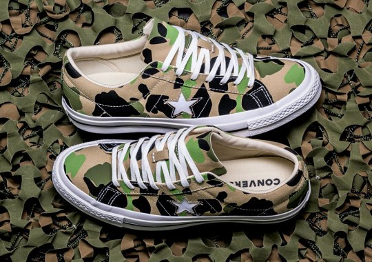 "The Converse One Star ""Duck Camo"" Is Hitting Stores Now"