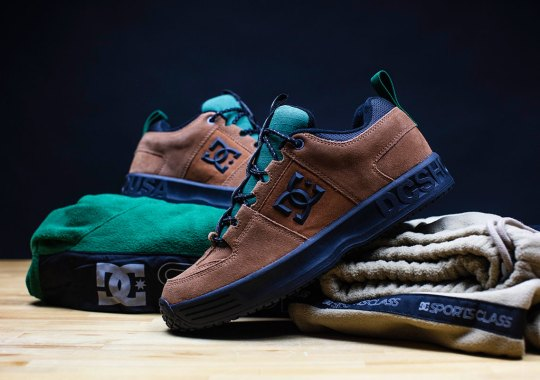 DC Shoes And Australian Skate Brand Sports Class Team Up For A Special Lynx OG