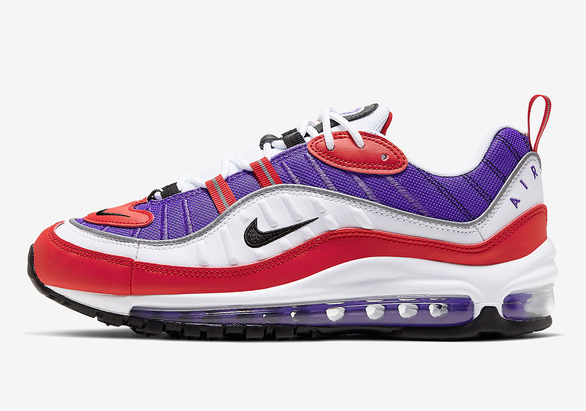 Nike Air Max 98 Psychic Purple AH6799-501 Release Info | SneakerNews.com