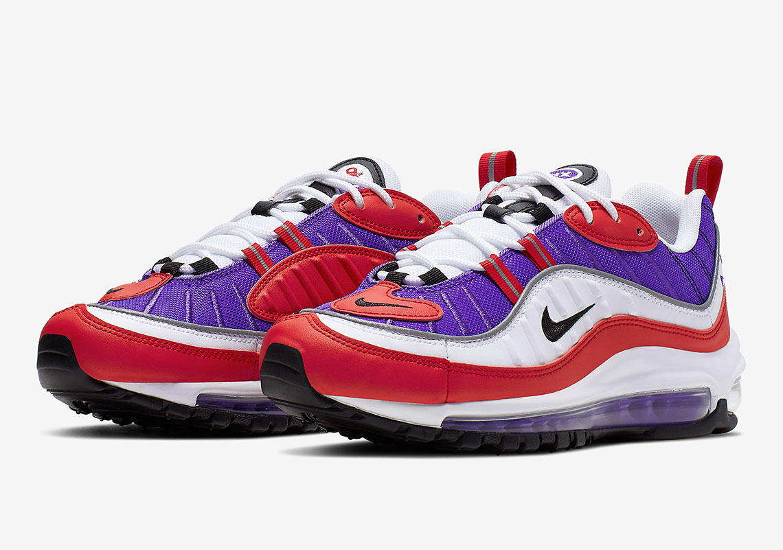 info for bf6bf 0e936 Nike Air Max 98 Psychic Purple AH6799-501 Release Info ...