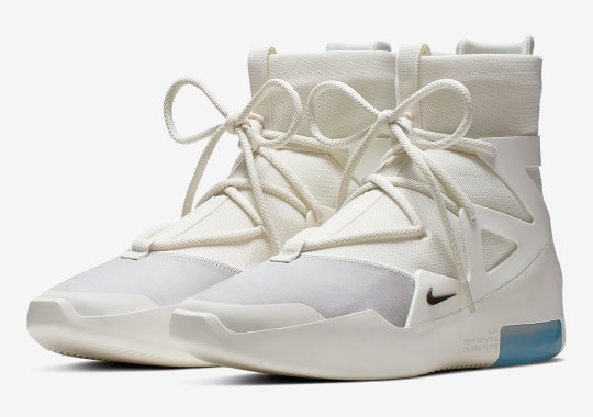 The Nike Air Fear Of God 1 Is Returning To Basics In A Sail Colorway