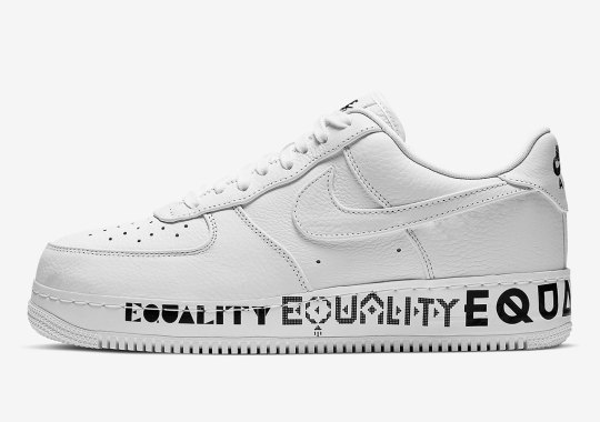 "Is Nike Releasing Another Air Force 1 ""EQUALITY""?"