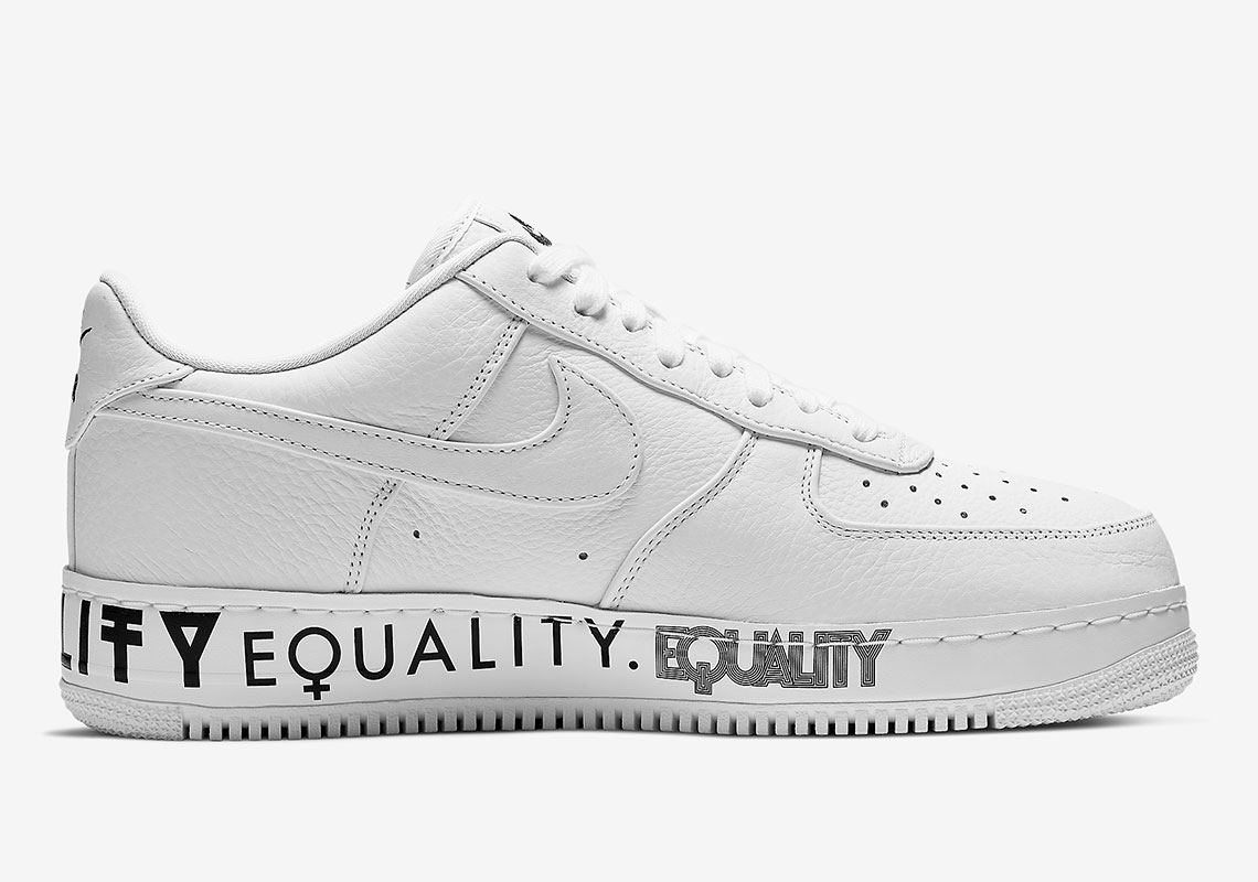 13096d3ab6f1a Nike Air Force 1 EQUALITY AQ2118-100 Release Info | SneakerNews.com