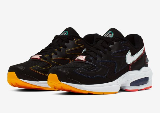 Nike Adds Colorful Contrast Stitching To The Air Max 2 Light