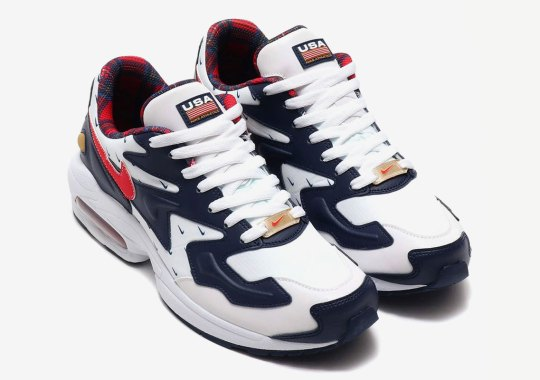 The Nike Air Max 2 Light Goes Patriotic Right In Time For Independence Day