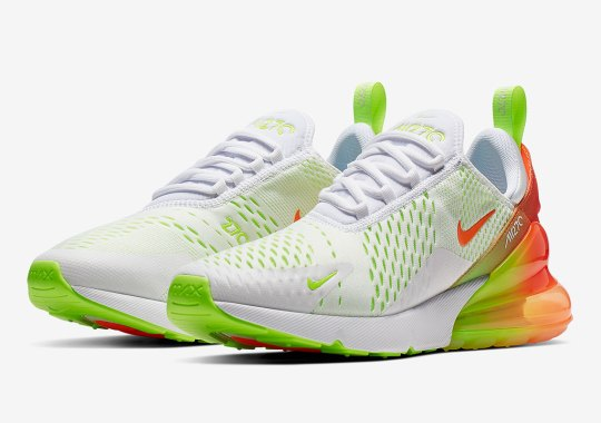 The Nike Air Max 270 Is Back With Refreshing Gradients