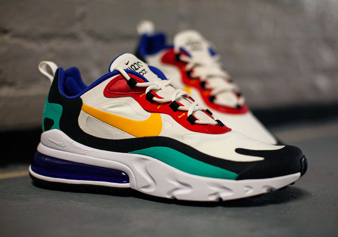 Nike Air Max 270 React AO4971-002 AT6174-002 Release Date ...