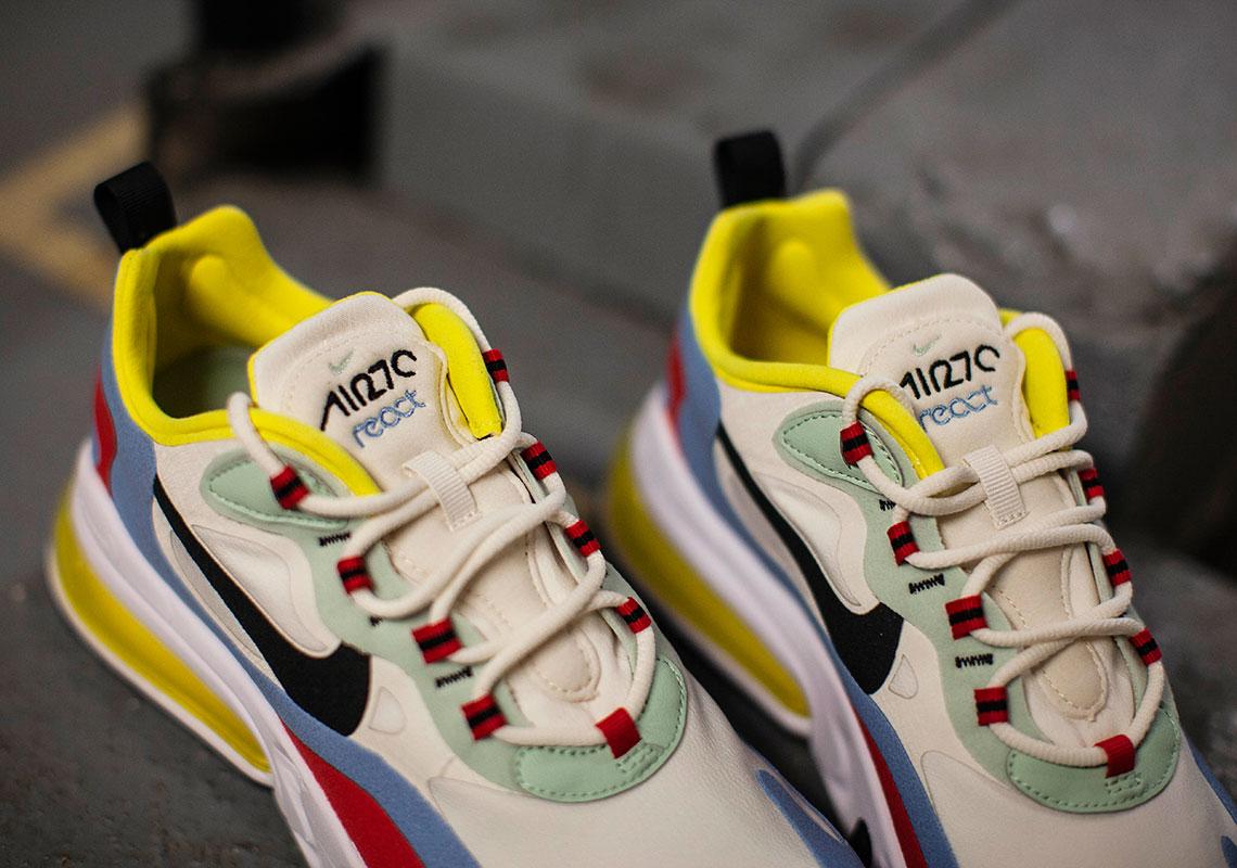 Rabatt Nike Air Max 270 React in bunt AT6174 300 | Sneakers