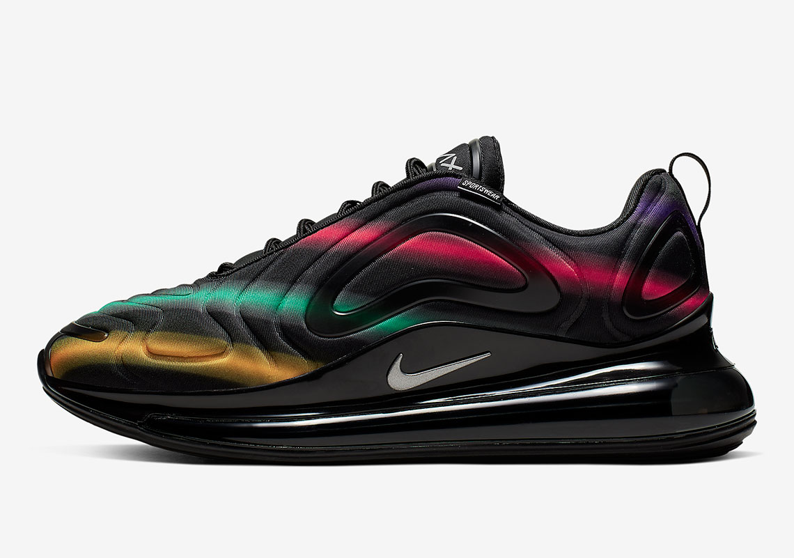 Neon Streaks Appear On The Nike Air Max 720