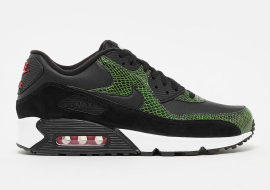 """promo code babae 225d2 Where To Buy The Nike Air Max 90 """"Green Python"""""""