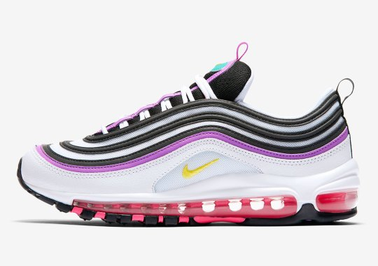 "The Vintage ""Have A Nike Day"" Colors Return On This Fresh Nike Air Max 97"