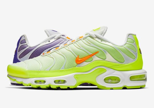 "Alternate Colorblocking Hits The Nike Air Max Plus ""Color Flip"""